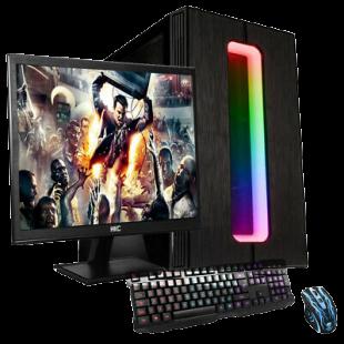 Gaming PC Bundle/ AMD Ryzen 3 3200G Quad Core/ 16GB RAM/ 2TB HDD/ On-Board Graphics/ Windows 10
