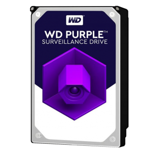 "WD 3.5"", 1TB, SATA3, Purple Surveillance Hard Drive, 5400RPM, 64MB Cache"