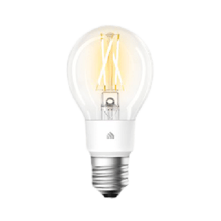 TP-Link (KL50) Kasa Wi-Fi LED Smart Light Bulb, Soft White, Dimmable, App/Voice Control, Screw Fitting