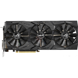 Asus Radeon ROG STRIX RX590 OC, 8GB DDR5, DVI, 2 HDMI, 2 DP, RGB Lighting