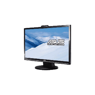 "Asus 24"" LED Monitor (VK248H), 1920 x 1080, 2ms, 50M:1, VGA, DVI, HDMI, HD Webcam, Speakers, VESA"