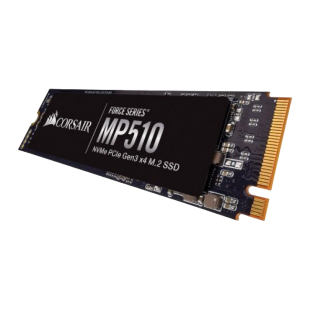 Corsair 480GB Force Series MP510, M.2 NVMe SSD, M.2 2280, PCIe, 3D NAND, R/W 3480/2000 MB/s