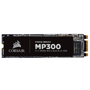 Corsair 480GB Force Series MP300  M.2 NVMe SSD, M.2 2280, PCIe, 3D NAND, R/W 1600/1040 MB/s