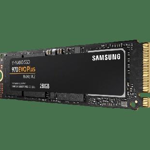 Samsung 250GB 970 EVO PLUS M.2 NVMe SSD, M.2 2280, PCIe, V-NAND, R/W 3500/2300 MB/s
