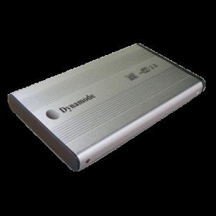 "Dynamode External 2.5"" IDE Hard Drive Caddy, USB2, USB Powered, Silver"