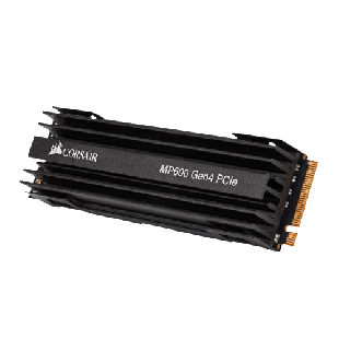 Corsair 1TB Force Series MP600 M.2 NVMe SSD, M.2 2280, PCIe, 3D TLC NAND, R/W 4950/4250 MB/s