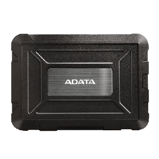"ADATA ED600 2.5"" SATA Hard Drive Caddy, USB 3.1, USB Powered, IP54 Water, Dust & Shock Proof"