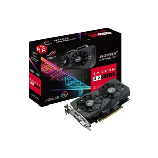 Asus Radeon ROG STRIX RX560 GAMING, 4GB DDR5, PCIe3, DVI, HDMI, RGB Lighting