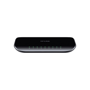 TP-LINK (TL-SG1008D V8) 8-Port Gigabit Unmanaged Desktop Switch, Plastic Case