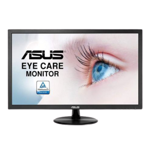 "Asus 21.5"" Eye Care LED Monitor (VP228DE), 1920 x 1080, 5ms, 100M:1, VGA, VESA"