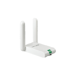 TP-LINK (TL-WN822N) 300Mbps High Gain Wireless USB Adapter, Realtek, 2 Antennas