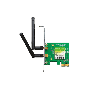 TP-LINK (TL-WN881ND) 300Mbps Wireless N PCI Express Adapter, 2 Detachable Antennas, Low Profile Bracket