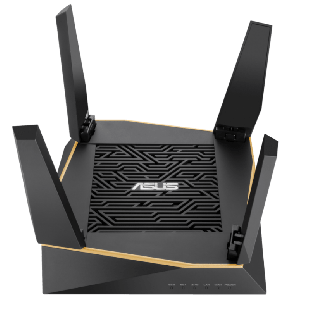 Asus (RT-AX92U 2 Pack) AiMesh WiFi System, AX6100 (400+867+4804) Tri-Band, 802.11ax, AiProtection Pro, Flexible SSID
