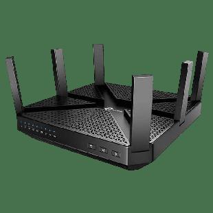 TP-Link (ARCHER C4000) AC4000 (1625+1625+750) Wireless Tri-Band Cable Router, MU-MIMO, Quad Core CPU, MU-MIMO, USB 3.0