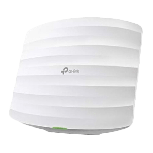 TP-LINK (EAP115) 300Mbps Wireless N Ceiling Mount Access Point, POE, 10/100, Clusterable, Free Software