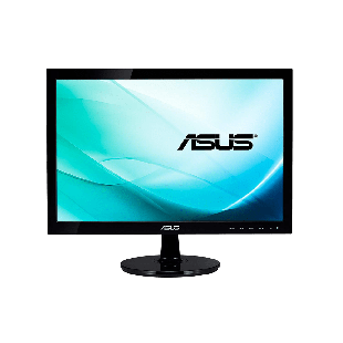 "Asus 21.5"" LED Monitor (VK228H), 1920 x 1080, 5ms, 80M:1, VGA, DVI, HDMI, HD Webcam, Speakers, VESA"