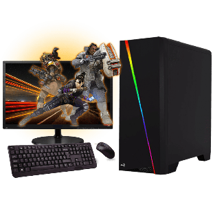Refurb - CK Intel Core i5-4460, GeForce GTX 1050 Ti Gaming PC