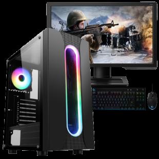 CK - Refurbished Gaming PC/ Intel Core i5 3.00GHz/ 8GB RAM/ 240GB SSD+1TB HDD/ GTX 1050 Ti 4GB/ B