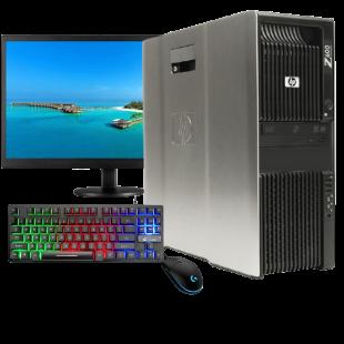 CK - Refurb Intel Xeon X5550/16GB RAM/2x 500GB HDD/GeForce 1080 8GB/Full Set Gaming Pc/B