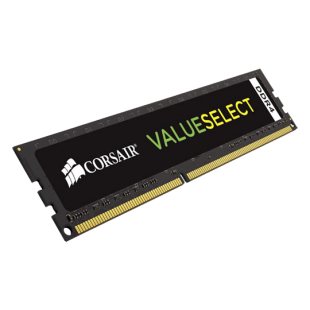Corsair Value Select 4GB DDR4 2400MHz (PC4-2400) Memory.