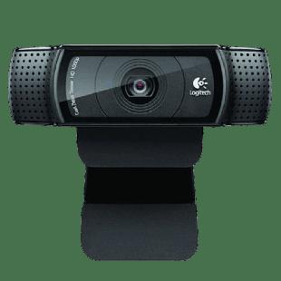 Logitech C920 Webcam, 15MP, HD 1080P, Mic, HD Video Calling, Auto Light Correction
