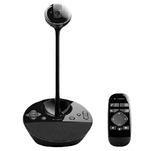 Logitech BCC950 ConferenceCam, Full HD, Carl Zeiss Lens, 8ft Cable, Remote Control