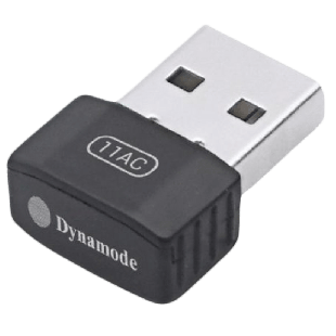 Dynamode (WL-AC-600M) AC600 Wireless Dual Band Nano USB Adapter, 2.4GHz and 5GHz