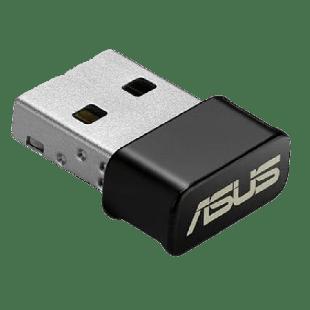 Asus (USB-AC53 NANO) AC1200 (400+867) Wireless Dual Band Nano USB Adapter, USB 3.0