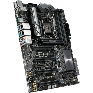 Asus Z270-WS, Workstation, Intel Z270, 1151, ATX, DDR4, HDMI, DP, SLI/Crossfire, M.2, Dual GB LAN, USB 3.1