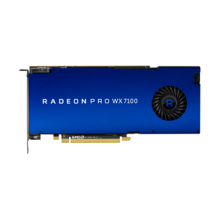 AMD Radeon Pro WX 7100 Professional Graphics Card, 8GB DDR5, 4 DP, 1080MHz