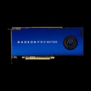 AMD Radeon Pro WX 7100 Professional Graphics Card, 8GB DDR5, 4 DP, 1080MHz
