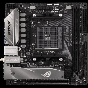 Asus ROG STRIX X370-I GAMING, AMD X370, AM4, Mini ITX, 2 DDR4, Wi-Fi, RGB Lighting