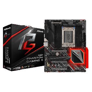 Asrock X399 PHANTOM GAMING 6, AMD X399, TR4, ATX, 8 DDR4, XFire/SLI, 2.5GB LAN, RGB Lighting