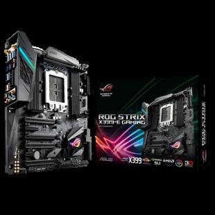 Asus ROG STRIX X399-E GAMING, AMD X399, TR4, EATX, 8 DDR4, XFire/SLI, Wi-Fi, RGB Lighting