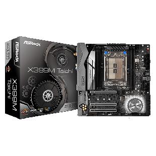 Asrock X399M TAICHI, AMD X399, TR4, Micro ATX, 4 DDR4, XFire/SLI, Wi-Fi, Dual GB LAN, RGB Lighting
