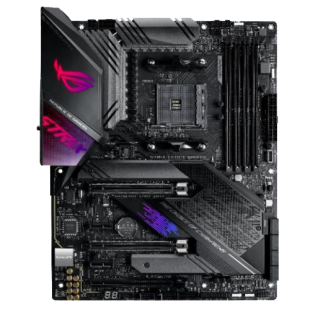 Asus ROG STRIX X570-E GAMING, AMD X570, AM4, ATX, 4 DDR4, HDMI, DP, SLI/XFire, Wi-Fi, 2.5GB LAN, PCIe4, RGB Lighting
