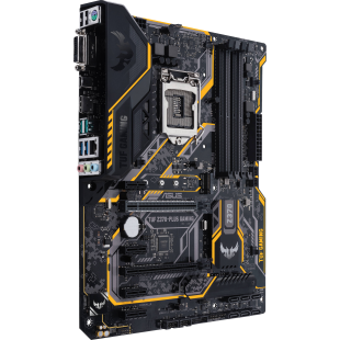 Asus TUF Z370-PLUS GAMING II, Intel Z370, 1151, ATX, 4 DDR4, XFire, DVI, HDMI, RGB Lighting