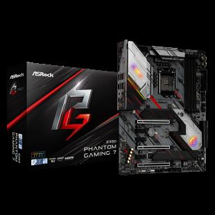 Asrock Z390 PHANTOM GAMING 7, Intel Z390, 1151, ATX, XFire/SLI, HDMI, DP, 2.5GB LAN, USB 3.2, RGB Lighting