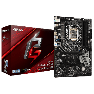 Asrock Z390 PHANTOM GAMING 4S, Intel Z390, 1151, ATX, DDR4, CrossFire, HDMI, USB 3.2, RGB Lighting