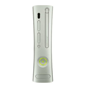 Refurbished Xbox 360 Console (HDMI) W/ Wired Pad, White, C ... on