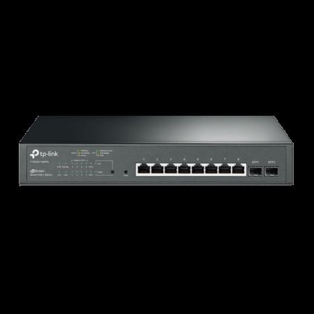 TP-Link (T1500G-10MPS) 8-Port Gigabit Smart POE+ Switch, 2