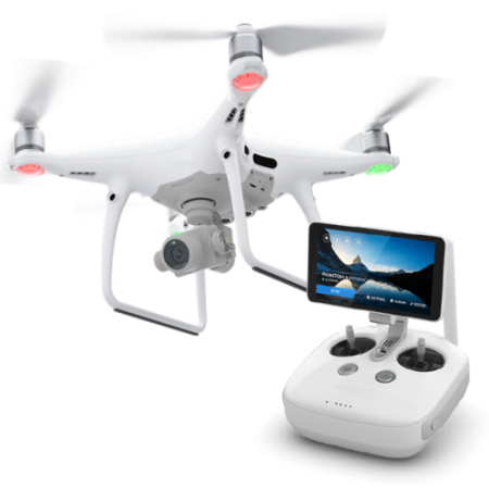 Refurbished DJI Phantom 4 Pro + (Plus) Drone + 20MP Camera ...